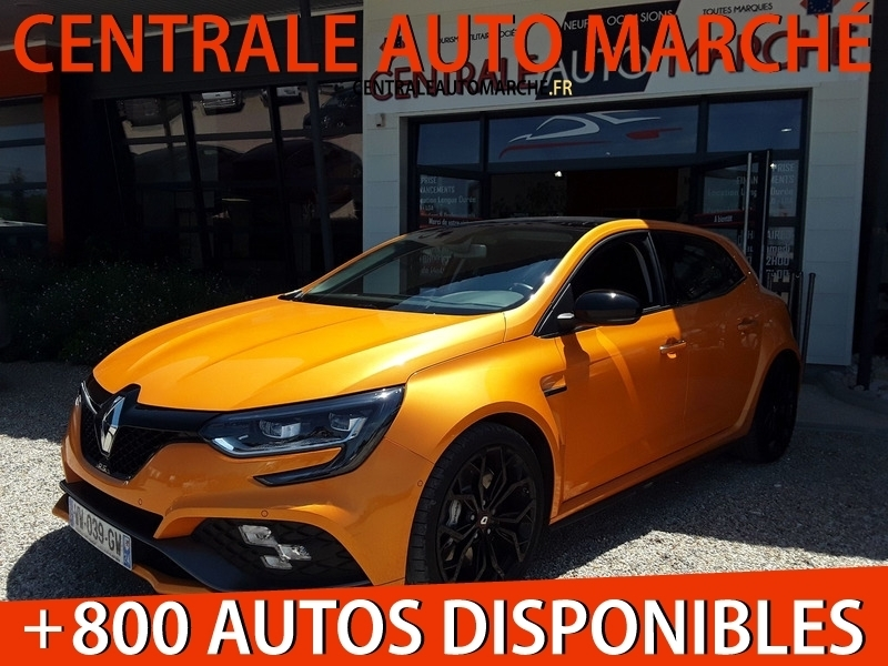 Renault MEGANE IV 1.8T 280CH RS Essence ORANGE TONIC Occasion à vendre