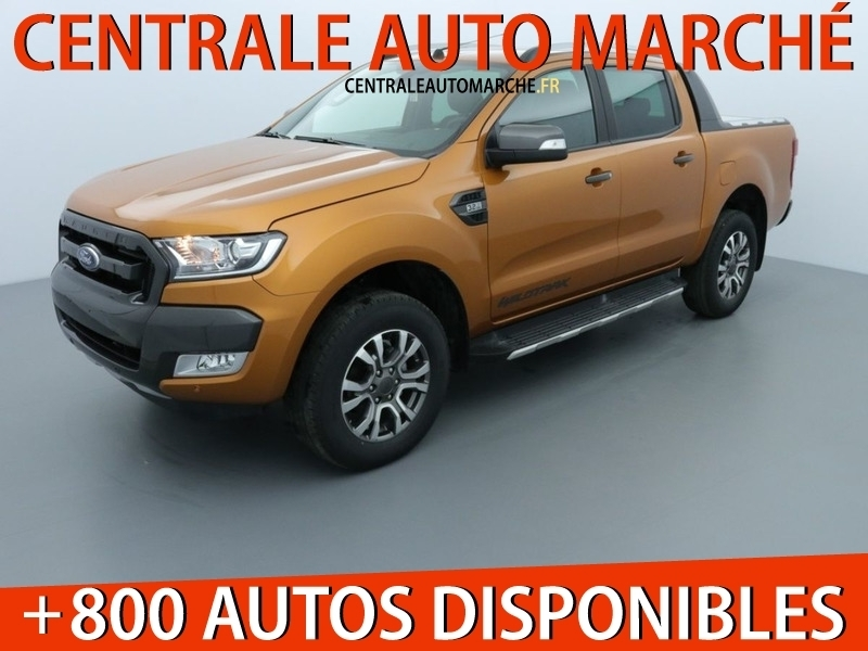 Ford RANGER 2.0 TDCI 213CH DOUBLE CABINE WILDTRAK BVA10 Diesel PRIDE ORANGE Occasion à vendre