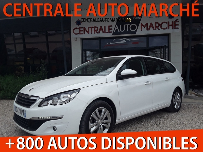 Peugeot 308 SW BLUEHDI 100 ACTIVE BUSINESS Diesel BLANC Occasion à vendre