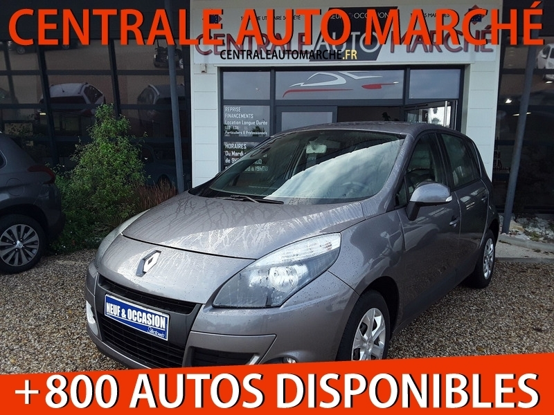 Renault SCENIC III 1.5 DCI 95CH FAP AUTHENTIQUE ECO² Diesel GRIS CASSIOPEE Occasion à vendre