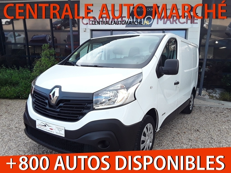 Renault TRAFIC III FG L1H1 1.6 DCI 115 CONFORT Diesel BLANC Occasion à vendre
