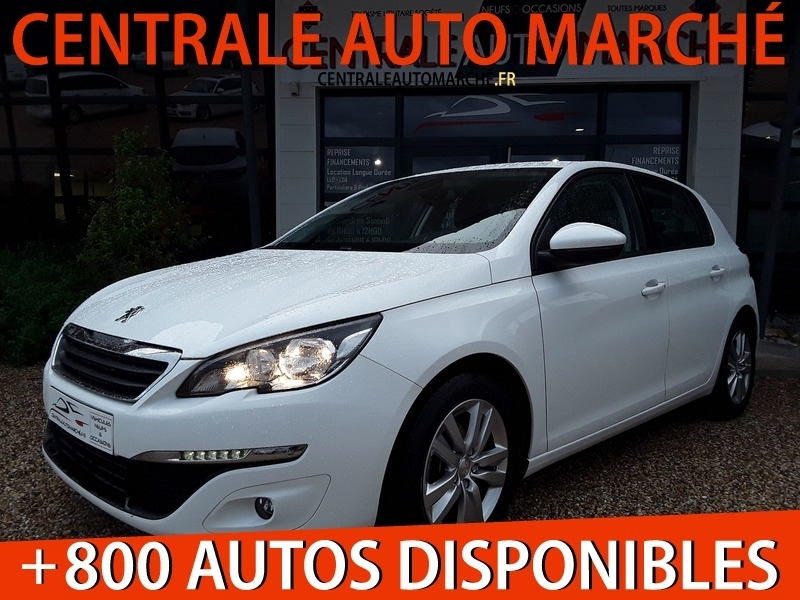Peugeot 308 1.6 BLUEHDI 100 ACTIVE BUSINESS Diesel BLANC Occasion à vendre