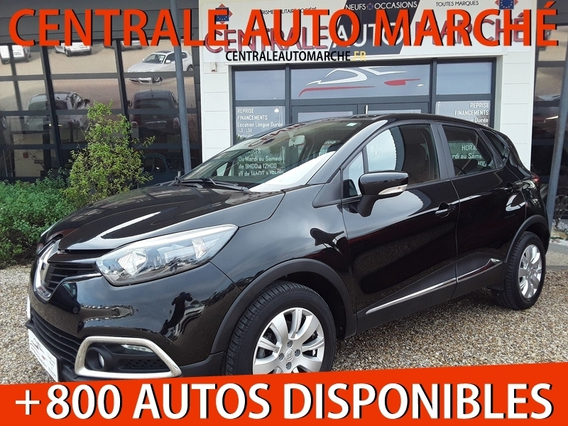 Renault CAPTUR 1.5 DCI 90 ENERGY BUSINESS ECO² EDC Diesel NOIR Occasion à vendre
