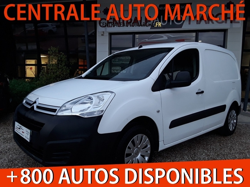 Citroen BERLINGO 1.6 BLUEHDI 100 S&S BUSINESS / GPS Diesel BLANC Occasion à vendre