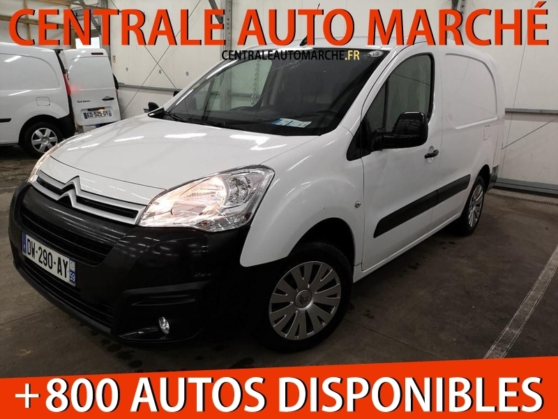 Citroen BERLINGO L2 1.6 BLUEHDI 100 S&S BUSINESS Diesel BLANC Occasion à vendre