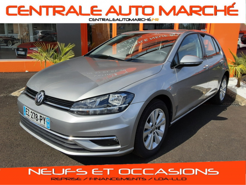 Volkswagen GOLF VII 1.6 TDI 115 BlueMotion Technology Confort Line Business Diesel GRIS Occasion à vendre