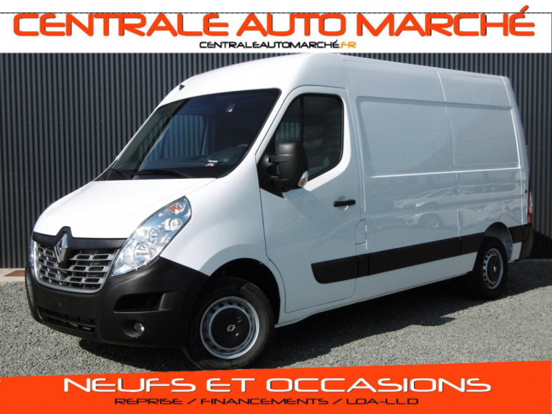 Renault MASTER FOURGON MASTER  L2H2 3.3t 2.3 dCi 130 E6 GRAND CONFORT Diesel Blanc Occasion à vendre