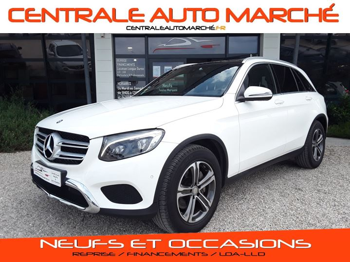Mercedes-Benz CLASSE GLC 220 d 9G-TRONIC 4Matic Business Executive  Diesel BLANC Occasion à vendre