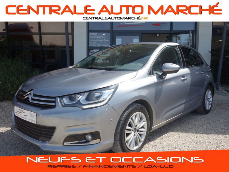Citroen C4 BlueHDi 100 SetS BMV 86g Millenium Business Diesel GRIS Occasion à vendre