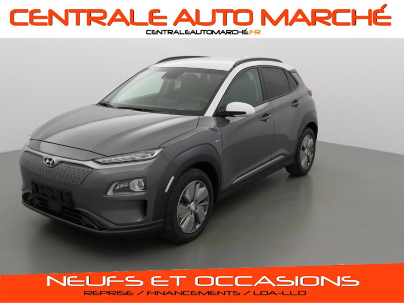 Hyundai KONA V9A ELECTRIC 204 POWER PACK SKY 2 TONE + EFF efficiency pack  ELECTRIQUE R33 2T GALACTIC GREY-CHALK WHITE Neuf à vendre