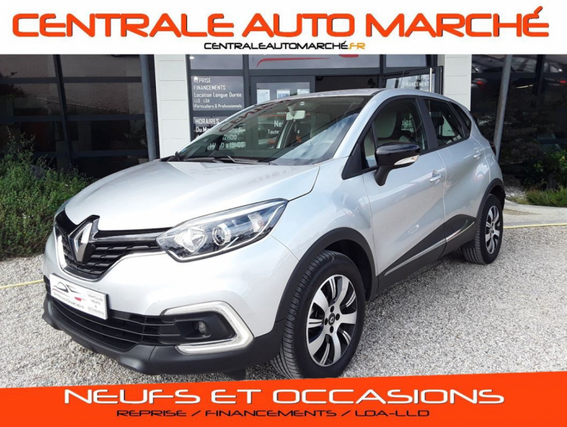 Renault CAPTUR TCe 90 E6C Business Essence GRIS METAL Occasion à vendre