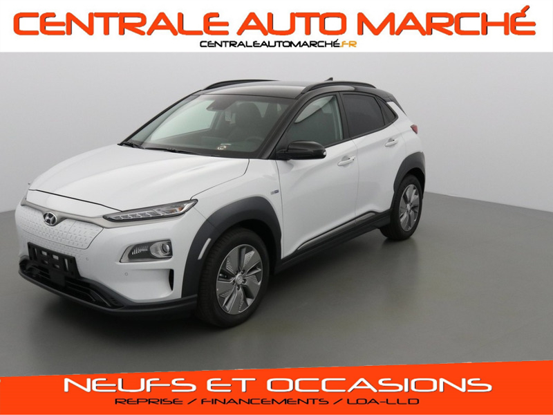 Hyundai KONA V9A ELECTRIC 204 POWER PACK SKY 2 TONE + EFF efficiency pack  ELECTRIQUE P61 CHALK WHITE - PHANTOM BLACK Neuf à vendre