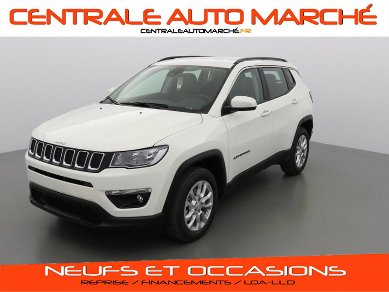Jeep Compass LONGITUDE BUSINESS DIESEL 296 / ALPINE WHITE Neuf à vendre